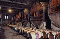 Europe/France/Languedoc-Roussillon/34/Hérault: château de Grezan (Coteaux-du-Languedoc AOC Faugères) - Cave de vieillissement [Non destiné à un usage publicitaire - Not intended for an advertising use]