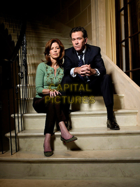 DANA DELANY & TIMOTHY HUTTON .in Kidnapped.*Editorial Use Only*.Ref: FB.www.capitalpictures.com.sales@capitalpictures.com.Supplied by Capital Pictures.