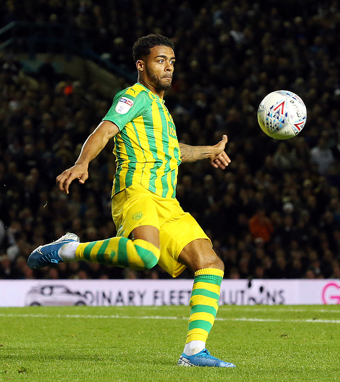 West Bromwich Albion's Darnell Furlong<br /> <br /> Photographer Rich Linley/CameraSport<br /> <br /> The EFL Sky Bet Championship - Tuesday 1st October 2019  - Leeds United v West Bromwich Albion - Elland Road - Leeds<br /> <br /> World Copyright © 2019 CameraSport. All rights reserved. 43 Linden Ave. Countesthorpe. Leicester. England. LE8 5PG - Tel: +44 (0) 116 277 4147 - admin@camerasport.com - www.camerasport.com