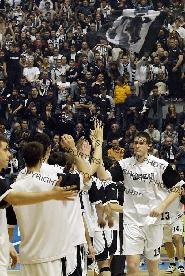 Kosarka, Euroleague, season 2006/07Partizan (Belgrade) Vs. Unicaja (Malaga, Spain)Kosta PerovicBeograd, 01.02.2007.FOTO: Srdjan Stevanovic
