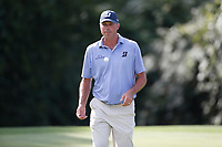 Matt Kuchar (USA) walks the 18th hole during the first round of the 100th PGA Championship at Bellerive Country Club, St. Louis, Missouri, USA. 8/9/2018.<br /> Picture: Golffile.ie | Brian Spurlock<br /> <br /> All photo usage must carry mandatory copyright credit (© Golffile | Brian Spurlock)