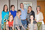 Enjoying the Cookery demonstration in the Aghadoe Heights Hotel on Thursday night was front row l-r: Caroline O'Keeffe, Mary Vousden, Sandra Dunlea. Back row: Lorna, Siobhain Bennett, Stephen McCormack, Catherine McCarthy and Fiona Collins ..