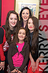 Jade, Cody, Ciara and Naomi Brosnan, Killarney, were in Lord Kenmares for Womens Christmas on Tuesday night...