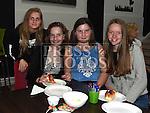 Maeve Mulroy, Karolina and Sinbija Gaizute and Ellen Deegan at the open day at Boomerang Café. Photo:Colin Bell/pressphotos.ie