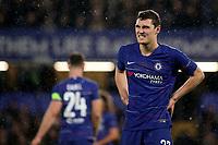 Andreas Christensen of Chelsea during Chelsea vs PAOK Salonika, UEFA Europa League Football at Stamford Bridge on 29th November 2018