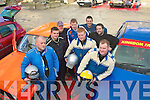 1510-1514.Castlegregory had 2 teams at last Sunday's Mini stages rally organised by Kerry motor club,based at Banna holiday resort,L-R Brendan O'Connor,Kenneth Kelliher,Declan&Alan O'Sullivan,Colm&Danial McCarthy,Michael Greaney and Mike Dennehy.