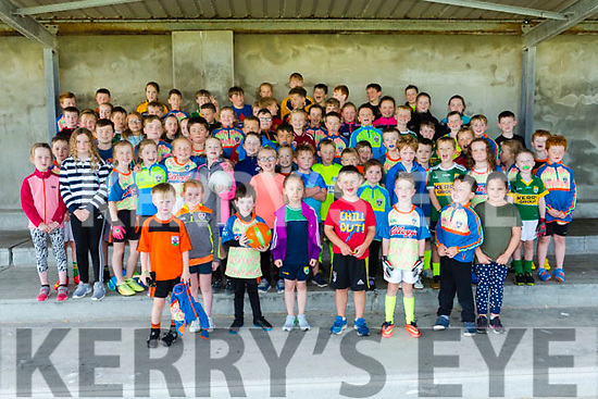 Enjoying the Ballyheigue GAA Cul Camp on Monday