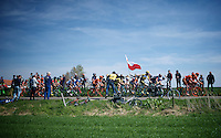 peloton driveby<br /> <br /> 50th Amstel Gold Race 2015