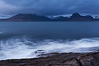 View towards Black Cuillins from Elgol, Isle of Skye, Scotland