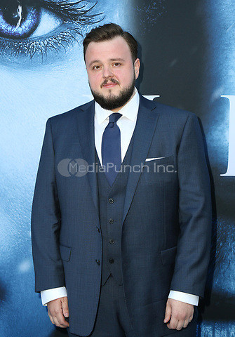 "LOS ANGELES, CA July 12- John Bradley,  At Premiere Of HBO's ""Game Of Thrones"" Season 7 at The Walt Disney Concert Hall, California on July 12, 2017. Credit: Faye Sadou/MediaPunch"