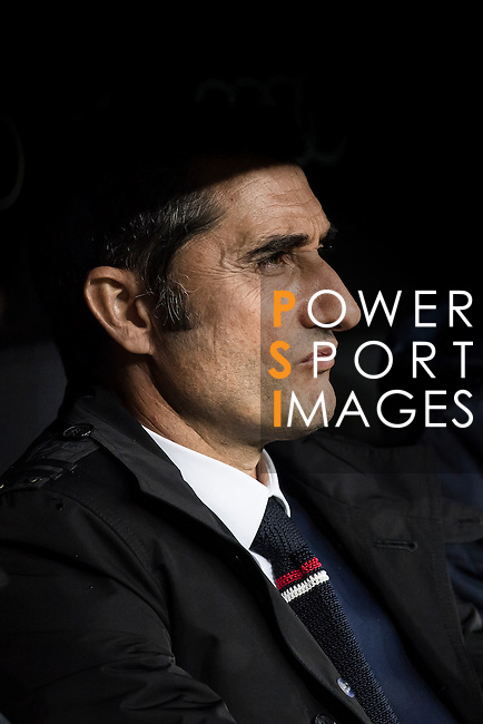 Coach Ernesto Valverde Tejedor of Athletic Club prior to their La Liga match between Real Madrid and Athletic Club at the Santiago Bernabeu Stadium on 23 October 2016 in Madrid, Spain. Photo by Diego Gonzalez Souto / Power Sport Images