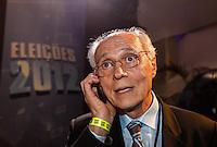 SAO PAULO, SP, 02 AGOSTO 2012 - ELEICOES 2012 - DEBATE BAND - PREFEITURA DE SP - Senador Eduardo Suplicy durante debate da Tv Bandeirantes de Sao Paulo, nesta quinta-feira, na regiao sul da capital paulista. (FOTO: VANESSA CARVALHO / BRAZIL PHOTO PRESS).