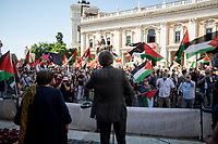 Yousef Salman (Comunità Palestinese Roma e Lazio) & Luisa Morgantini.<br />