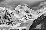 Mountain and Glacier, Cordillera Huayuash, Peru