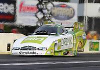 May 15, 2015; Commerce, GA, USA; NHRA funny car driver John Hale during qualifying for the Southern Nationals at Atlanta Dragway. Mandatory Credit: Mark J. Rebilas-USA TODAY Sports