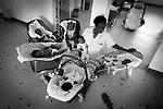 Orphanage La Poupouniere in Dakar, all workers are women. Senegal.