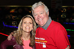 Sonia Satra & Jerry ver Dorn - 13th Annual Daytime Stars and Strikes Bowling for Autism on April 23, 2016 at Bowler City Lanes in Hackensack, NJ hosted by Jerry ver Dorn and Liz Keifer  (Photo by Sue Coflin/Max Photos)
