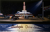 Drive-in's:  Bishop's Driv-Inn, Tulsa Oklahoma 1936. Demolished in 1941.