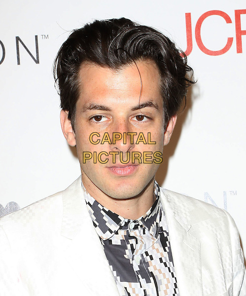 MARK RONSON.Charlotte Ronson and JCPenney Spring Cocktail Jam held At The The Milk Studio, Los Angeles, California, USA, 4th May 2010..portrait headshot white print shirt.CAP/ADM/KB.©Kevan Brooks/AdMedia/Capital Pictures.