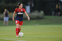 Boyds, MD - Saturday June 25, 2016: Diana Matheson during a United States National Women's Soccer League (NWSL) match between the Washington Spirit and Sky Blue FC at Maureen Hendricks Field, Maryland SoccerPlex.
