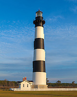 Cape Hatteras National Seashore, North Carolina: Bodie Island lighthouse (1872) on North Carolina's Outer Banks