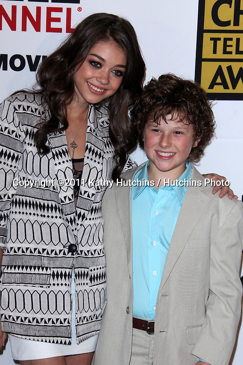 LOS ANGELES - JUN 20:  Ariel Winter, Nolan Gould arriving at the 1st Annual Critics' Choice Television Awards at Beverly Hills Hotel on June 20, 2004 in Beverly Hills, CA