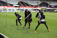 Pictured: Rough Copy rehearsing. Sunday, 01 June 2014<br />