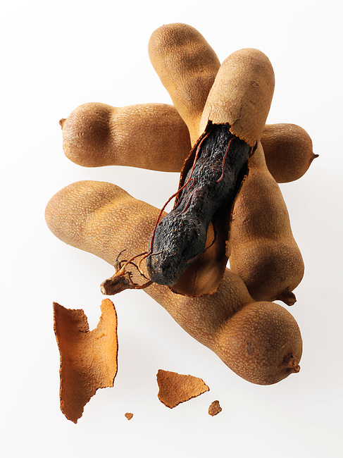 Whole tamarind Indian spices