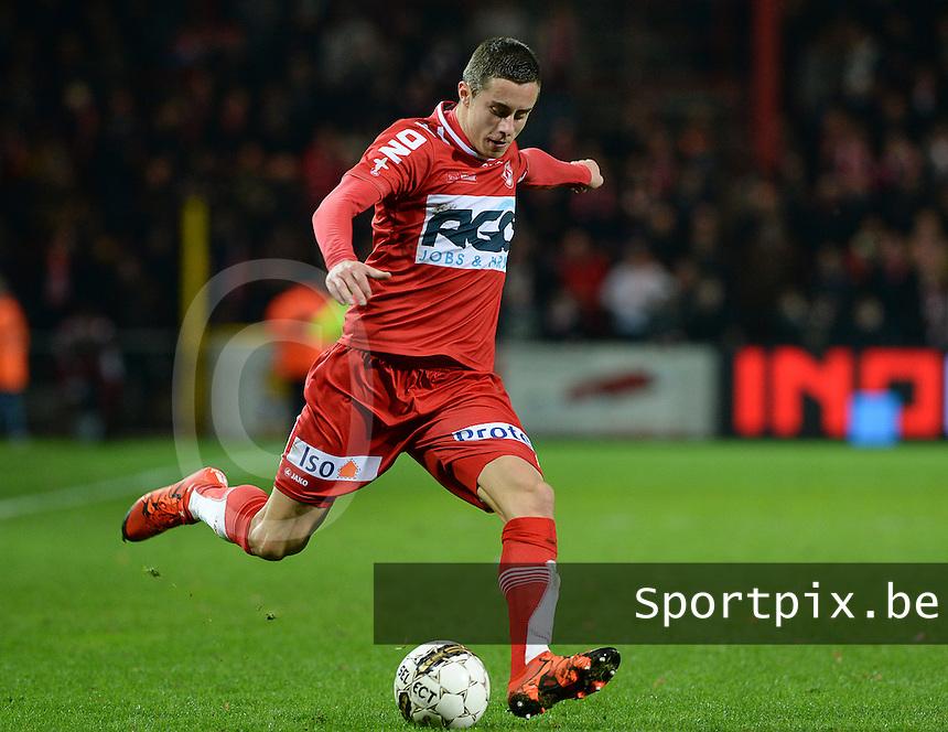 KV Kortrijk - RSC Anderlecht : Adam Marusic<br /> Foto VDB / Bart Vandenbroucke