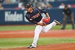 Tadashi Settsu (JPN), .February 26, 2013 - WBC : .2013 World Baseball Classic, Exhibithion Game .match between Japan 0-1 Hanshin Tigers  .at Kyocera Dome, Osaka, Japan..(Photo by AJPS/AFLO SPORT)