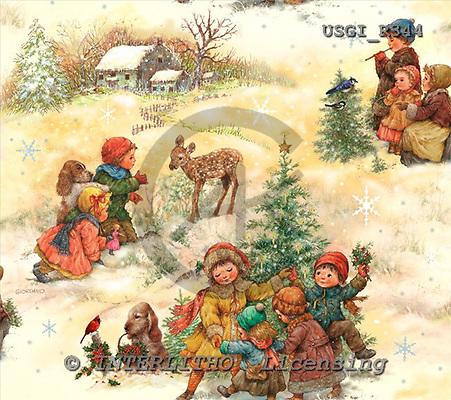 GIORDANO, GIFT WRAPS, GESCHENKPAPIER, PAPEL DE REGALO, Christmas Santa, Snowman, Weihnachtsmänner, Schneemänner, Papá Noel, muñecos de nieve, paintings+++++,USGIR344,#GP#,#X#