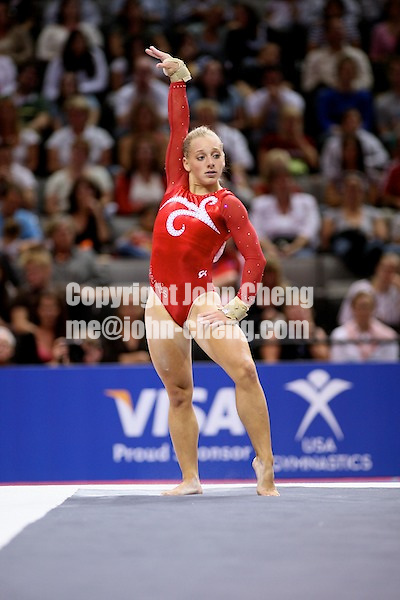 Photo by John Cheng - VISA Championships 2007 in San Jose, CA.Samantha Peszek