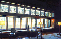 F.L. Wright: Wright Room, Metropolitan Museum of Art, New York. 1910: a summer home for Francis W. Little in Wayzat, a Minneapolis suburb. A lake was visible.