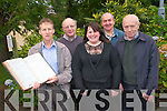 The Kilgarvan Historical and Photographic Society will be launching their book 'Moments and Memories' on December 17th at the Kenmare Bay Hotel. .Back L-R Danny O'Sullivan and Con Traynor.Front L-R Tommy J T Randles, Orla Hyde and Jerry Morley. .