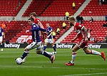 John Fleck of Sheffield Utd  during the Championship match at the Riverside Stadium, Middlesbrough. Picture date: August 12th 2017. Picture credit should read: Simon Bellis/Sportimage