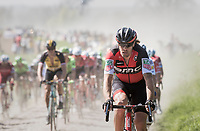 Daniel Oss (ITA/BMC)<br /> <br /> 115th Paris-Roubaix 2017 (1.UWT)<br /> One Day Race: Compiègne › Roubaix (257km)