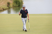 Andy Sullivan (ENG) makes par on 16 during Round Three of the 2015 Alstom Open de France, played at Le Golf National, Saint-Quentin-En-Yvelines, Paris, France. /04/07/2015/. Picture: Golffile | David Lloyd<br /> <br /> All photos usage must carry mandatory copyright credit (© Golffile | David Lloyd)