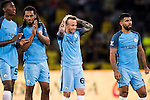 Manchester City squad reacts during the 2016 International Champions Cup China match at the Shenzhen Stadium on 28 July 2016 in Shenzhen, China. Photo by Victor Fraile / Power Sport Images