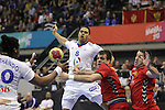 Daniel Narcisse vs Vasko Sevaljevic. Montenegro vs France: 20-32 - Preliminary Round - Group A