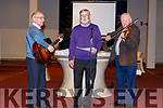 The O'Shea brothers performing at the Abbeydorney Church Concert on Sunday evening.
