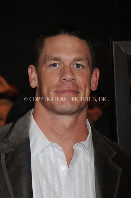 WWW.ACEPIXS.COM . . . . . ....December 9 2008, New York City....John Cena arriving at the premiere of 'The Day the earth stood still' at AMC Lowes Lincoln Square on December 9 2008 in New York City....Please byline: KRISTIN CALLAHAN - ACEPIXS.COM.. . . . . . ..Ace Pictures, Inc:  ..(646) 769 0430..e-mail: info@acepixs.com..web: http://www.acepixs.com