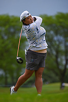 Christina Kim (USA) watches her tee shot on 3 during the round 1 of the KPMG Women's PGA Championship, Hazeltine National, Chaska, Minnesota, USA. 6/20/2019.<br /> Picture: Golffile | Ken Murray<br /> <br /> <br /> All photo usage must carry mandatory copyright credit (© Golffile | Ken Murray)