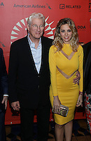 www.acepixs.com<br /> <br /> March 3 2017, Miami<br /> <br /> Richard Gere and Alejandra Silva attending the opening night of the Miami Film Festival on March 3, 2017 in Miami, Florida.<br /> <br /> By Line: Solar/ACE Pictures<br /> <br /> ACE Pictures Inc<br /> Tel: 6467670430<br /> Email: info@acepixs.com<br /> www.acepixs.com