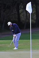 Ross McGowan (ENG) on the 4th during Round 3 of the Challenge Tour Grand Final 2019 at Club de Golf Alcanada, Port d'Alcúdia, Mallorca, Spain on Saturday 9th November 2019.<br /> Picture:  Thos Caffrey / Golffile<br /> <br /> All photo usage must carry mandatory copyright credit (© Golffile | Thos Caffrey)