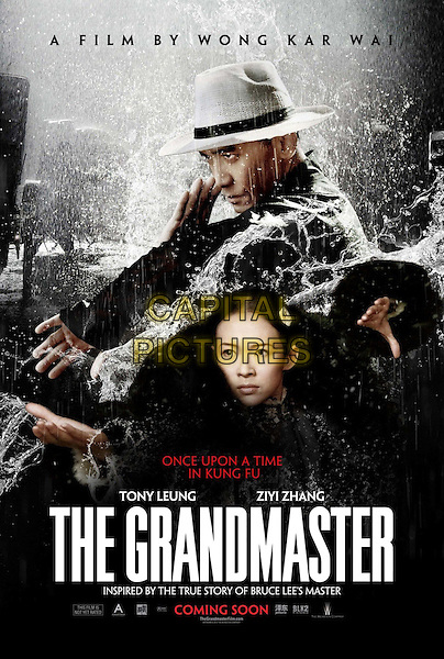 AMERICAN POSTER ART<br /> in The Grandmaster (2013) <br /> (Yi dai zong shi)<br /> *Filmstill - Editorial Use Only*<br /> CAP/FB<br /> Image supplied by Capital Pictures