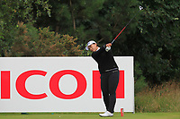 Amy Yang (KOR) on the 3rd tee during Round 3 of the Ricoh Women's British Open at Royal Lytham &amp; St. Annes on Saturday 4th August 2018.<br /> Picture:  Thos Caffrey / Golffile<br /> <br /> All photo usage must carry mandatory copyright credit (&copy; Golffile | Thos Caffrey)