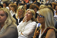 Roma, 25 Giugno 2011.Hotel Radisson blu..Il nostro tempo è adesso!.Seconda conferenza nazionale delle donne democratiche..Partecipa Rosy Bindi presidente nazionale dell'assemblea del Partito democratico, Roberta Agostini portavoce delle donne democratiche del partito , Paola Concia