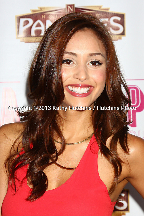 """LOS ANGELES - MAY 29:  Lindsay Morgan arrives at  the """"Priscilla Queen of the Desert"""" Play Opening at the Pantages Theater on May 29, 2013 in Los Angeles, CA"""