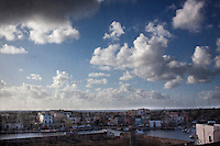 Lampedusa: una veduta del porto di Lampedusa..Lampedusa: a view of the port of Lampedusa. The port of Lampedusa is the landing point for migrants coming from North Africa after the revolution in Tunisia and Libya