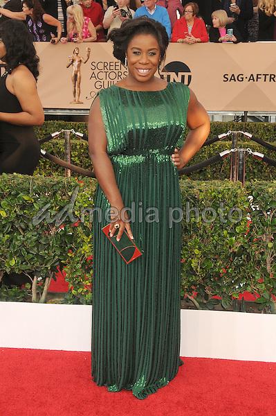 30 January 2016 - Los Angeles, California - Uzo Aduba. 22nd Annual Screen Actors Guild Awards held at The Shrine Auditorium. Photo Credit: Byron Purvis/AdMedia